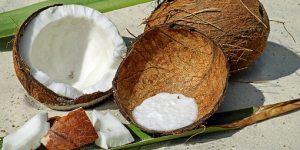 Vitaminas que se consiguen en el coco